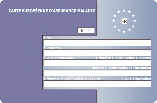 Carte Assurance Maladie Naissance.Carte Europeenne D Assurance Maladie Pensez Y Europe Direct