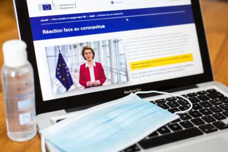 Illustration COVID-19, Toulouse. Message de Mme Ursula von der Leyen, Présidente de la Commission européenne –
